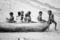 Kids on a Canoe | Lake Malawi | Malawi